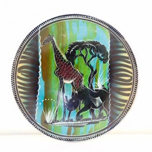 Hand Painted Animal Plate