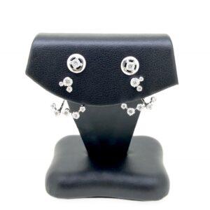 9K & 18K Diamond Earrings