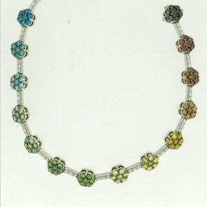 Colour Diamond Bracelets